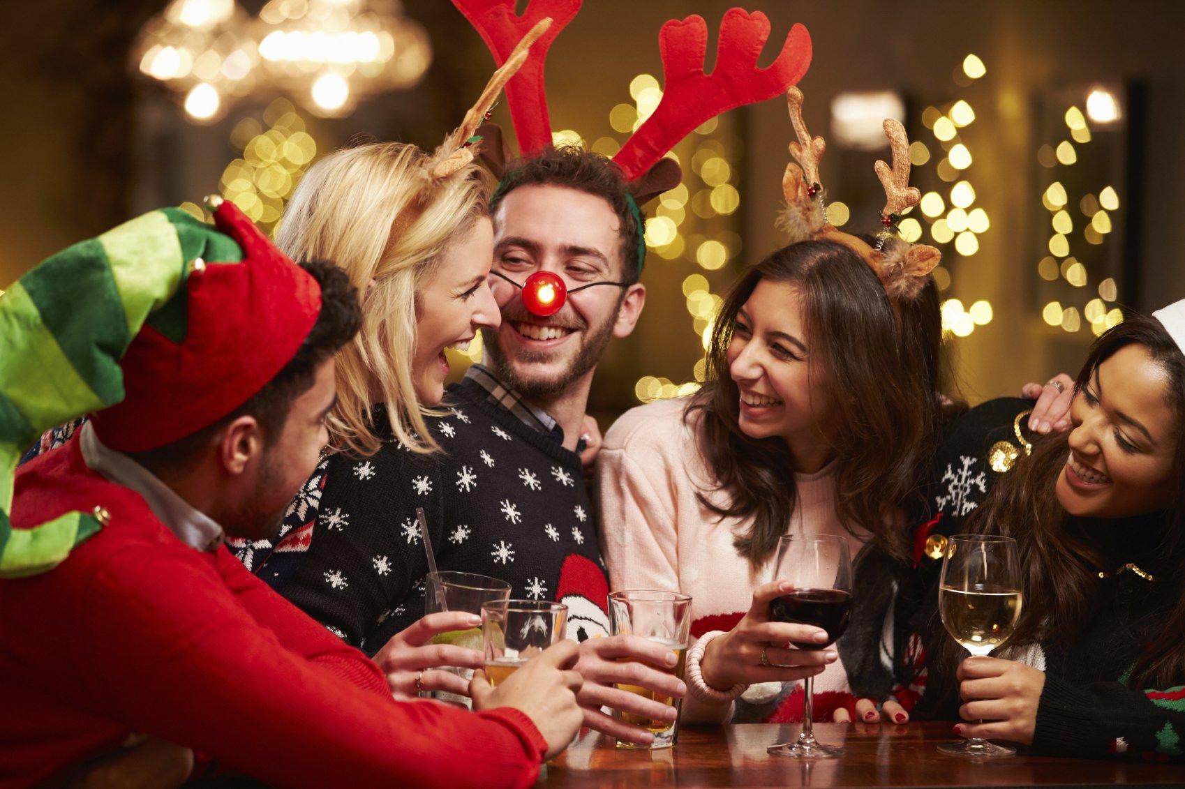 Спортивный Новый год: активные конкурсы для вечеринки