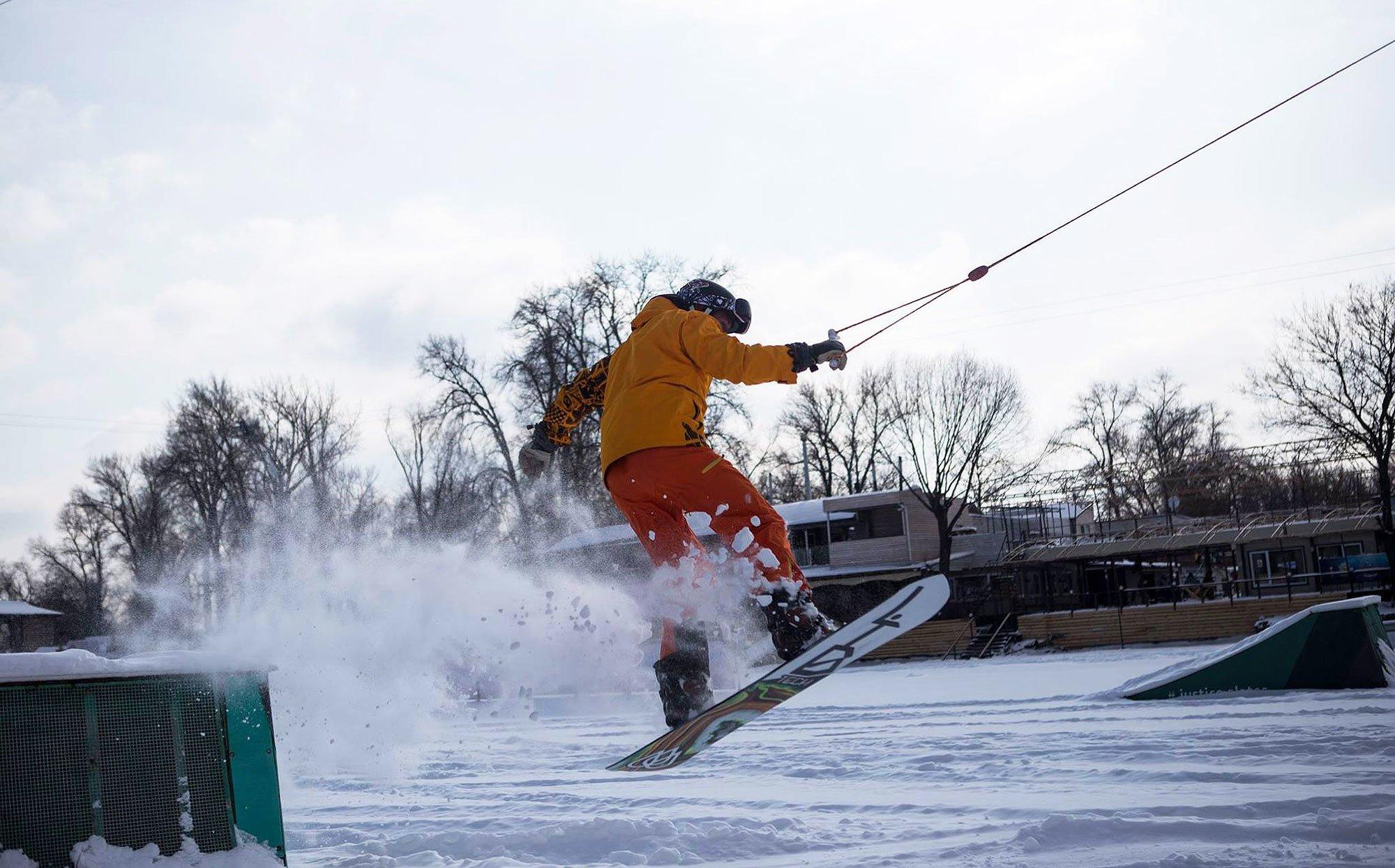 Топ 13 незвичайних зимових розваг у Києві