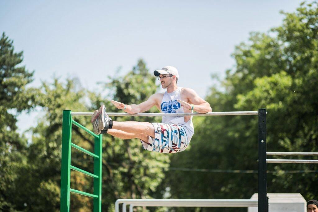 В Киеве состоится масштабный фестиваль воркаута Errea