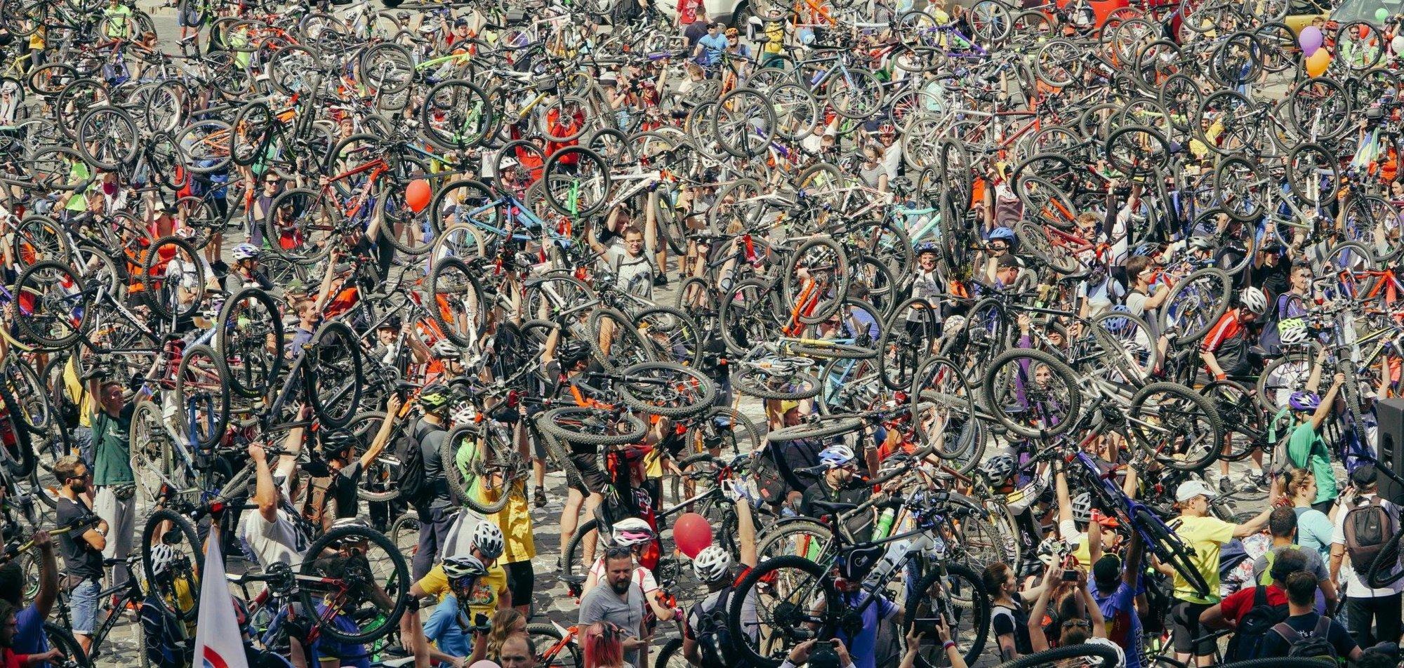 У Києві відбувся Всеукраїнський велодень