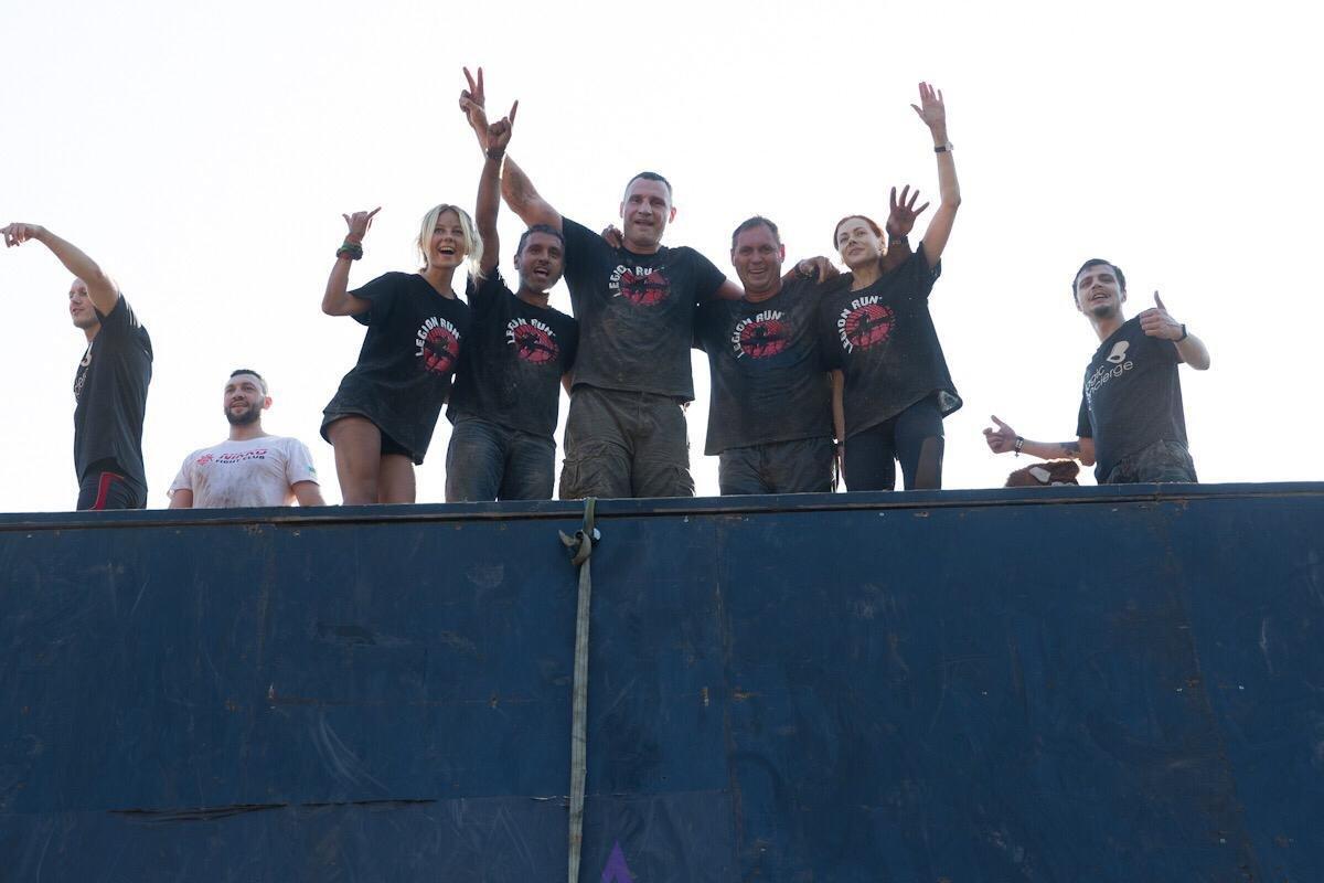 Виталий Кличко принял участие в Legion Run
