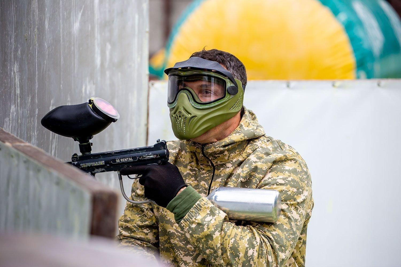 Володимир Кличко розповів про переваги пейнтболу