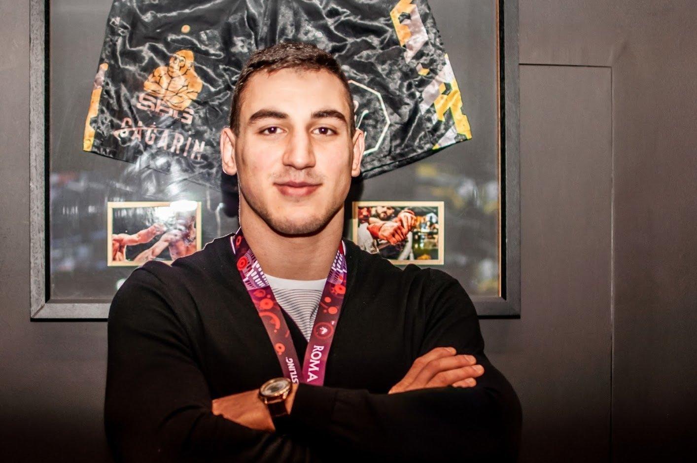 Чемпион Европы Семен Новиков: Хотел, чтобы мой дебют был грандиозным