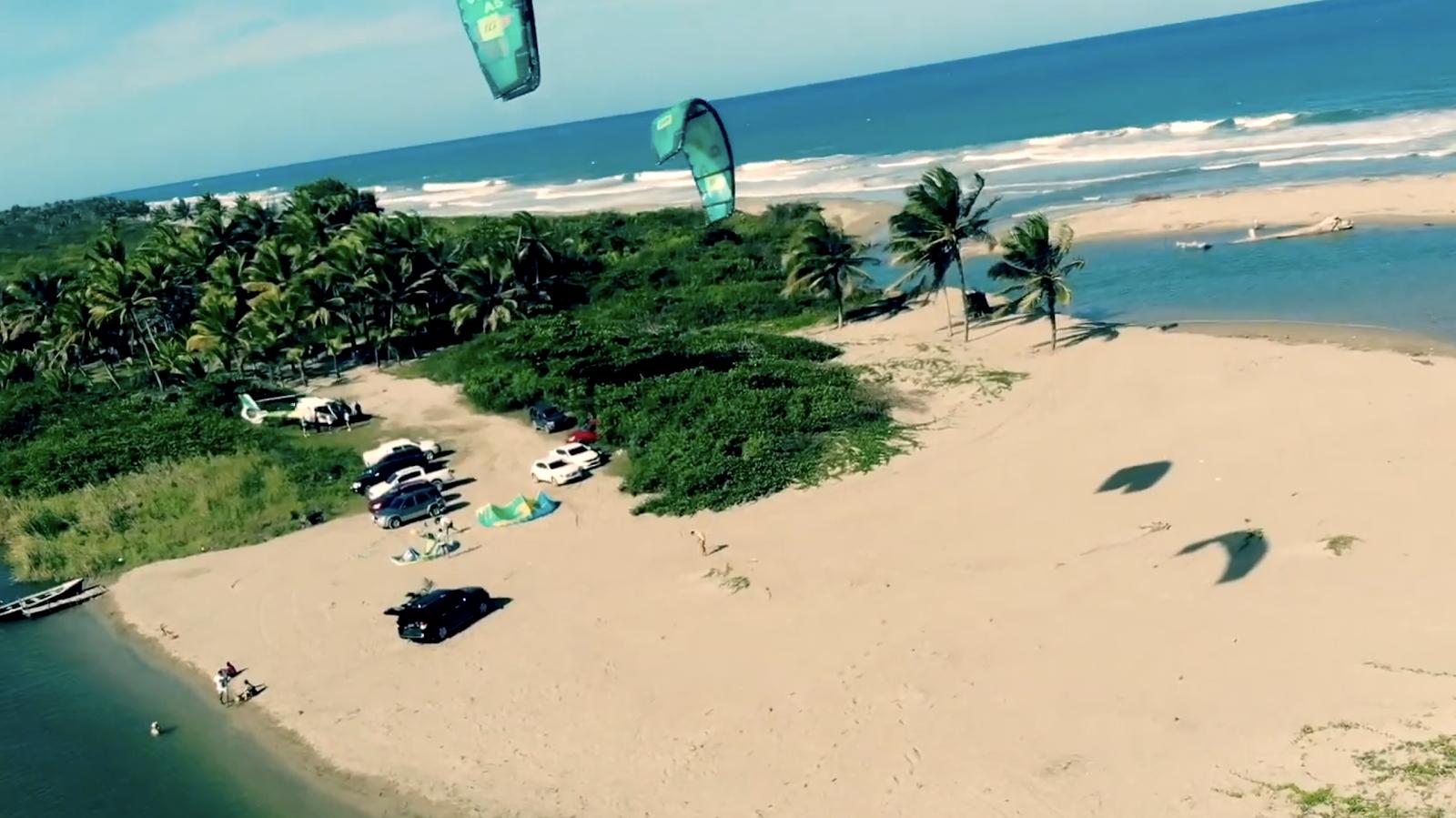 Поездка в Dominicana Cabarete Kitesurfing