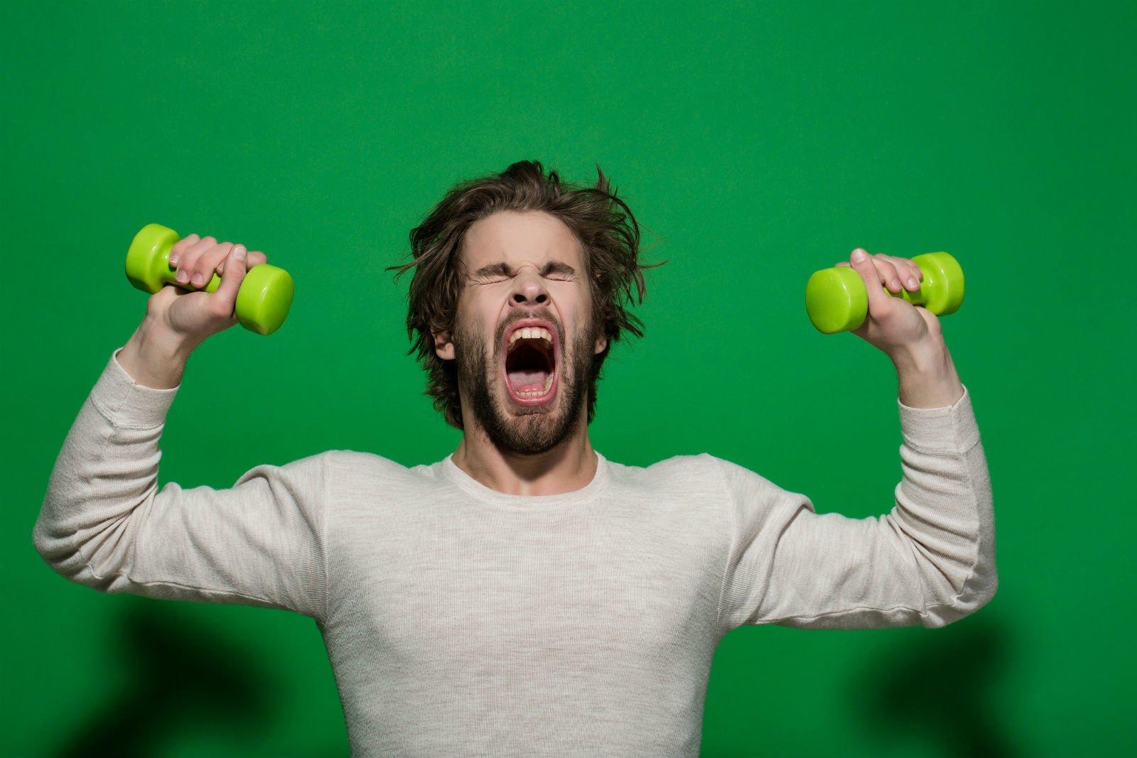 Чому під час тренування виникає позіхання